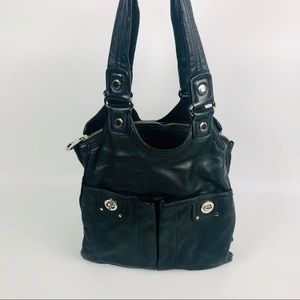 Marc by Marc jacobs black leather purse Terri tote